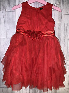 Girls 18-24 Months - Red Party Dress