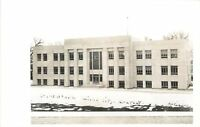 Miles City Montana~Custer County Courthouse~ART DECO~1950s Real Photo~RPPC