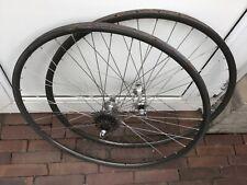 Shimano Dura Ace 7400 wheelset wheels roadbike tubular Wolter profil 20 rims