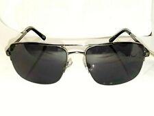 909e156df Foster Grant Max Squared Semi Rimless Pilot Aviator Sunglasses Gunmetal Spg  Hng
