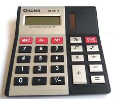 Calculator Desktop 08-Digit Gaona Ds-6011A Dual Power Beep Sound New