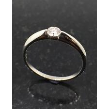 Diamond Jewellery 9ct White Gold 0.20ct Diamond Ring JH000022