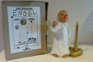 Rot Ceramic -Sammlerengel -* Millennium-Engel 1999-2000 * Höhe ca. 16 cm * OVP *