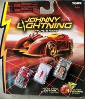 """Johnny Lightning Micro Strike 3-Pack **Rare Chase """"White Lightning""""**"""