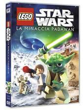 DVD • Lego Star Wars La Minaccia Padawan YODA ITALIANO