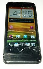 HTC One V 4GB Black (Virgin Mobile) Android Smartphone Cracked Glass