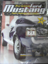 Construction ton Ford Mustang * nº 71 * 1967 Shelby GT -500 * 1: 8 *