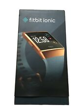 Fitbit Ionic Gold Bluetooth Activity Tracker Fitness Smart Watch