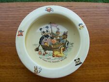 ROYAL WINTON PIP THE PANDA  CHILDRENS  BOWL  1950's
