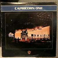 """CAPRICORN ONE Movie Soundtrack (1978) - 12"""" Vinyl Record LP - EX"""