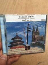 Wang Sven Xia:Narration Of Love-Sentimental Music If Erhu Vol.2 CD 1996 Edward