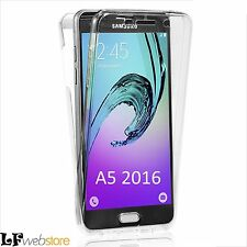 "360"" Ultra Slim Cover Custodia Samsung Galaxy A5 2016 trasparente"