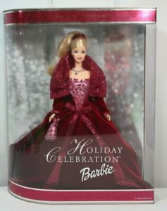 2002 Special Edition Holiday Celebration Barbie #56209 NIB NRFB