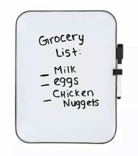 SHIPS FREE! Jot Magnetic Dry Erase Board 8.5