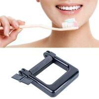 Toothpaste Tube Squeezer Dispenser Wringer Roller Aluminum New