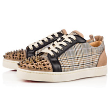 CHRISTIAN LOUBOUTIN SPIKES POPCORN TRAINERS SNEAKERS SHOES SIZE 11.5 12.5 45.5
