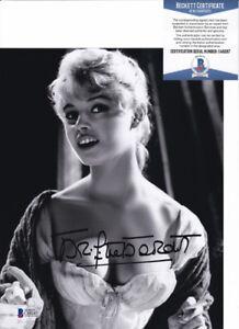 Brigitte Bardot Sexy Actress Signed Autograph 8x10 Photo Beckett BAS COA #8