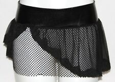 S M TRIBAL BELLY DANCE DANCING GOTHIC GOTH LACE UP LOLITA MICRO MINI SKIRT BELT
