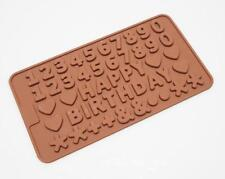 SLIGHT 2nd MINI NUMBERS Chocolate Candy Silicone Bakeware Mould Cake Fondant