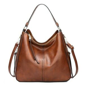 Women's Handbag Shoulder Bag Lady Crossbody Bag Synthetic Leather Dual Zipper