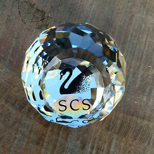 Swarovski Collectors Society Paperweight Limited Edition Black Swan