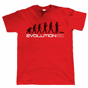 Evolution of RC Mens Radio Control Buggy Car Racing T Shirt