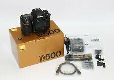 """NEW Nikon D500 Camera, 4K Ultra HD, 20.9MP, Wi-Fi/Bluetooth/NFC 3.2""""Touch Screen"""