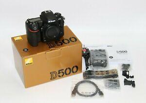 "Nikon D500 Camera, 4K Ultra HD, 20.9MP, Wi-Fi/Bluetooth/NFC 3.2""Touch Screen"