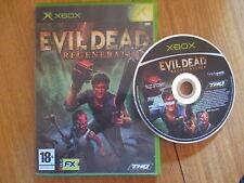 Evil Dead Regeneration / Jeu XBOX / Sans Notice