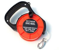 Scuba Dive Reel with Handle 150ft/45m long  WIL-DR-01O WILCOMP