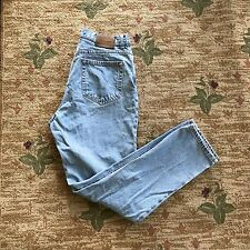 VTG 90s Calvin Klein High Waisted Light Wash Denim Jeans Size: 31""
