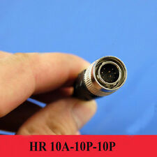 Hirose Connector 10 pin Male plug, Hr10A-10P-10P, Red camera power 10 Pin plug
