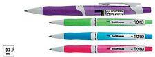 Conjunto de 4 erichkrause retráctil diseño colorido Bolígrafos Papelería