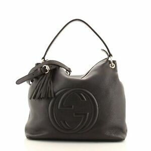 Gucci Soho Convertible Hobo Leather Large