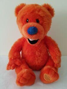 Ojo Bear In The Big Blue House Plush Soft Toy Disney Store Henson - Damaged Nose