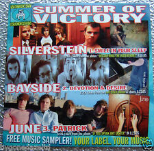 SUMMER OF VICTORY - VICTORY RECORDS MUSIC SAMPLER SILVER PROMO CD (FREE UK POST)