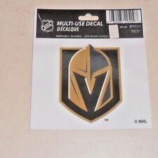 VEGAS GOLDEN KNIGHTS 3 X 3 DECAL OFFICIALLY LICENSED PRODUCT