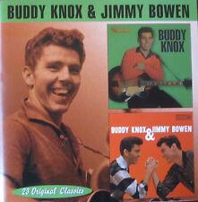 BUDDY KNOX & JIMMY BOWEN - Buddy Knox/Buddy Knox & Jimmy Bowen (CD, 1999)