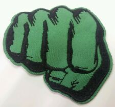 Hulk Fist iron on embroidered patch