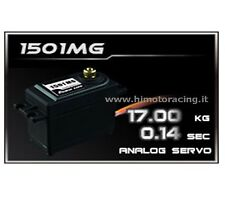 1501MG SERVO ANALOGICO DA 17kg 0.14 HIGH SPEED POWER HD INGRANAGGI IN METALLO