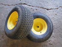 John Deere STX-38 Tractor Dico 18x8.50-8 Rear Tires & Rims