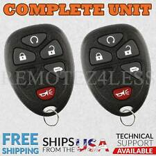 2 for 2005 2006 2007 2008 2009 Pontiac Montana Keyless Entry Remote Key Fob 375
