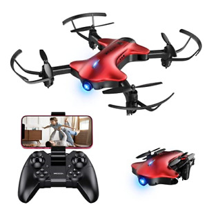DROCON Spacekey Wifi Drone With FPV Camera 1080P FHD, RC Quadcopter Drone for 3D