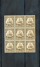 GERMAN EAST AFRICA Sc 11(MI 11)**VF NH BLOCK OF NINE $135