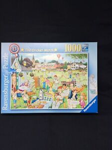 Ravensburger 1000 piece jigsaw  -  The Cricket Match- Used