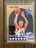 1990 Hoops Larry Bird #2 All Star HOF