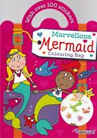 Mermaid Colouring Sticker Book  - A4 Paperback for Children 3+