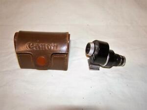 Vintage Canon RF Rangefinder Zoom Finder with Case, 50/4528/4025/3521 #200142