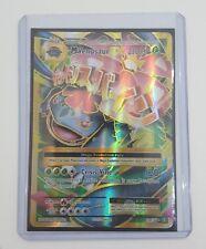 Ultra Rare Holo Full Art Mega Venusaur EX 100/108 Pokemon Trading Card - NM/Mint
