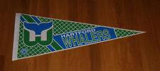 1980's Hartford Whalers pennant defunct NHL